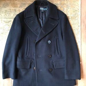 Polo by Ralph Lauren Pea Coat (Medium, Navy)